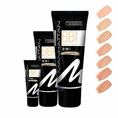 Manhattan 9 in 1 Long Lasting BB Cream - 30ml # Choose your Shade