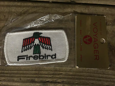 Pontiac Firebird Patch new in package, GM, Trans AM vintage rare