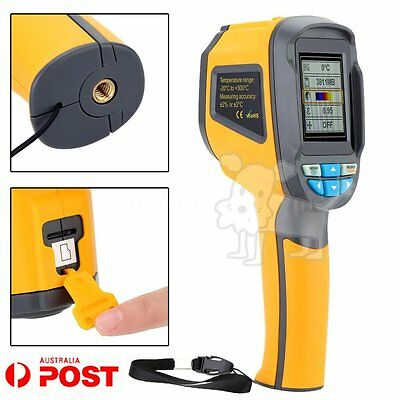 Precision Protable Thermal Imaging Camera Infrared Thermometer Imager HT-02 AUID