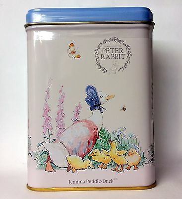 Delightful Jemima Puddle-Duck Tin with 40 Tbags - Earl Grey Tea - Beatrix Potter