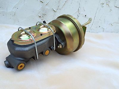 """64 65 66 Ford Mustang 7"""" power brake booster & master cylinder disc or drum"""
