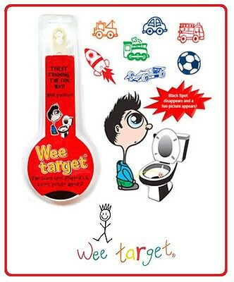 ❤ TOILET TRAINING Boys Potty WEE TARGET - Bulk Lot of 5 Pack Perfect Gift Idea ❤
