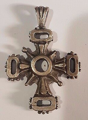 Byzantine Silver Cross C X-Xi - Wearable. Beautiful