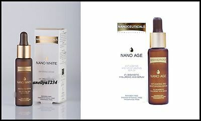 ISIS PHARMA NANO WHITE Whitening Serum or NANO AGE Anti-Ageing Serum