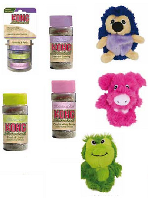 Kong Cat/Kitten Botanicals Aromatic Catnip & Refillable Toys