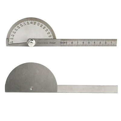 Craftsman Ruler Carpenter Tool 180 Degree Adjustable Protractor Angle Finder