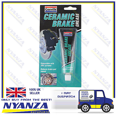 Ceramic Brake Grease Tube Very High Temperature Lubricant ABS Braking System 70g