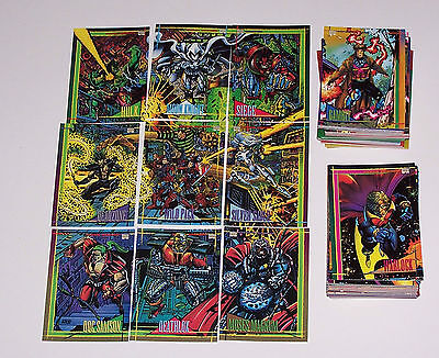 1993 Marvel Universe Base set