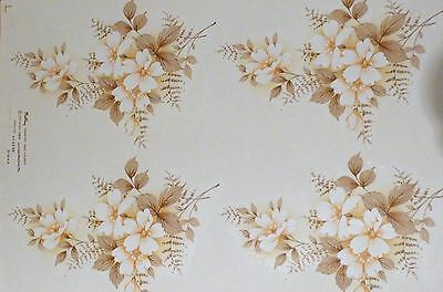 CERAMIC DECALS  4 DIANA  646298 18 cm X 13 cm IN A SOFT BROWN RIGHT PRICE