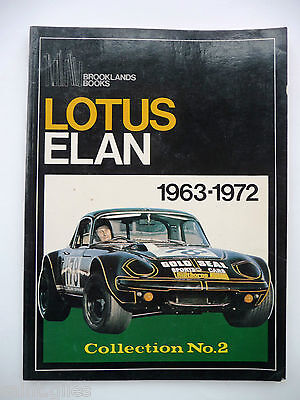 """LOTUS ELAN"" 1963-1972,  Collection No. 2 - Brooklands Books - R.M. Clarke"