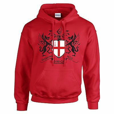 St George's Day Crest Design George And The Dragon Hoodie