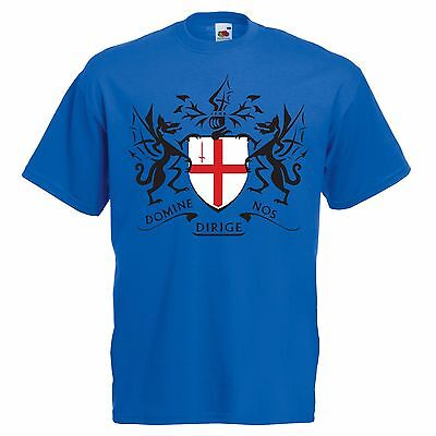 St George's Day Crest Design George And The Dragon T-shirt