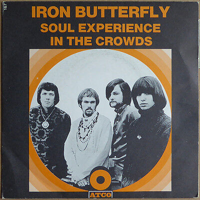 "7"" Iron Butterfly - Iron Butterfly - Soul Experience - Frankreich 1969 - NM RAR"