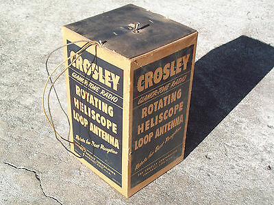 Crosley Rotating Heliscope Loop Antenna