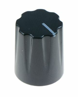 "Black Davies 1900H Style 1/4"" 6.35mm Guitar Potentiometer Knob"