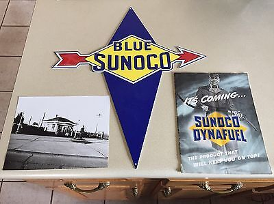 sunoco sign And Dealer Magazine And Photo