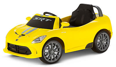 6V Dodge Viper Ride-On, Yellow | actualColor: Yellow