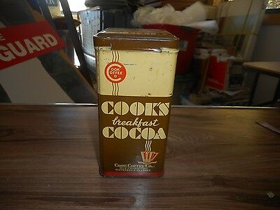 Vintage Can Cook's Breakfast Cocoa