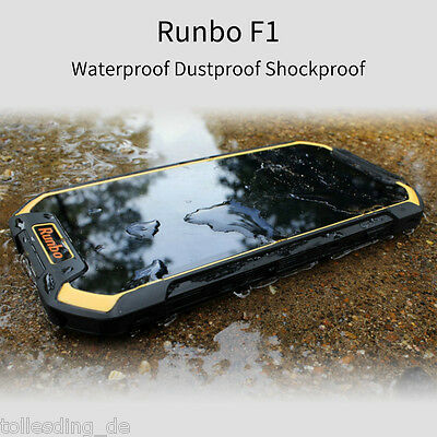 Runbo F1 5.5'' Waterproof Android 6.0 4G LTE Mobile Smartphone Dual SIM 3GB/32GB