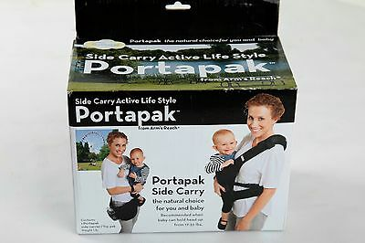 NIB Arm's Reach Portapak Side Carry Carrier - Black