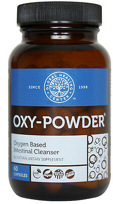 Oxy-Powder Colon Cleanse & Natural Laxative Occasional Constipation Relief Pills