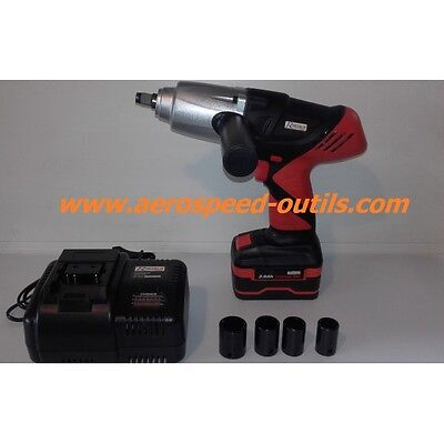 Cle A Choc A Batterie Lithium Mandrin Carre 1/2 18V