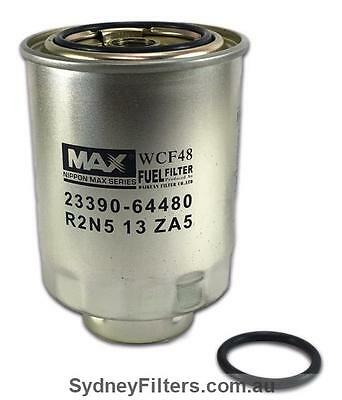 Nippon Max 23390-64480 Toyota Fuel Filter with RECESSED BASE [WCF48]
