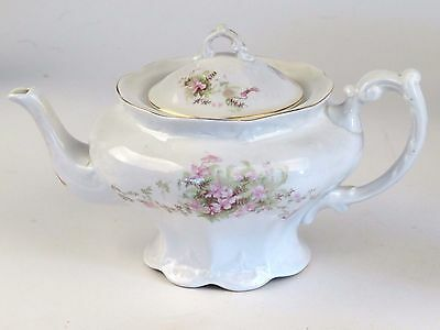 Antique Maddocks Lamberton Works Royal Porcelain Tea Coffee Pot Rare Unusual