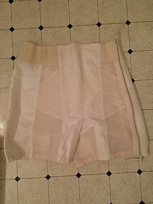vintage 1960's girdle with garters, Carol Brent, in original box, large