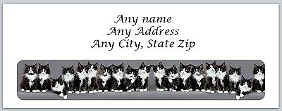30 Personalized Address Labels Kittens Buy 3 get 1 free (ac 525)