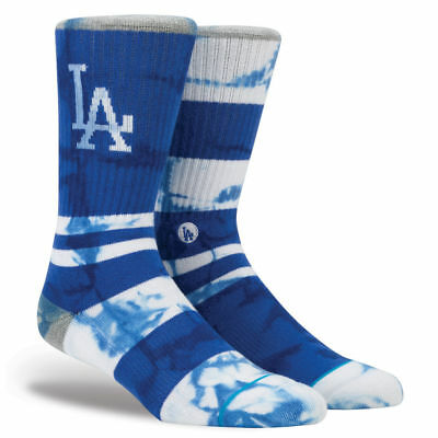 Los Angeles Dodgers Stance MLB Summer League Crew Socks - Blue
