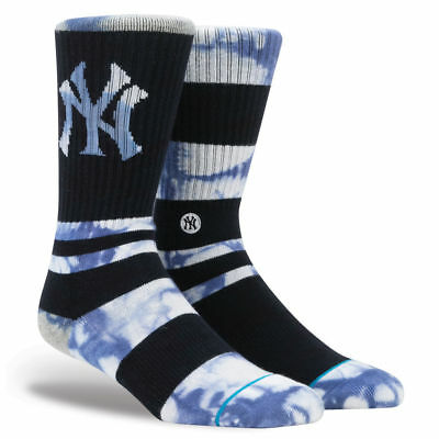 New York Yankees Stance MLB Summer League Crew Socks - Navy