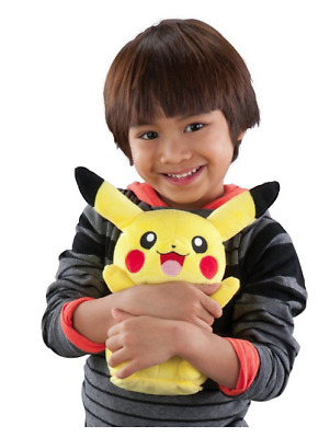 Talking Pikachu Toy Interactive Pokemon Plush Doll Toddler Kids Anime Soft New
