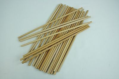 "3/8"" Hickory Dowels ideal for Craft 16+"" Long Package of 25"