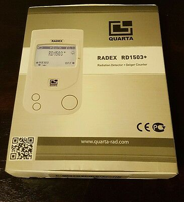 New, RADEX RD1503+ Geiger Counter /Radiation Detector