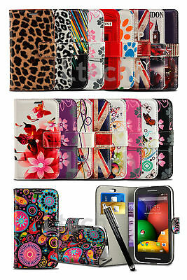 Samsung Galaxy A5 (2017) SM-A520 - Printed Pattern Design Book Wallet Case &Pen