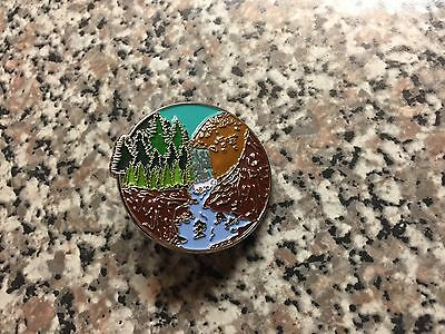 """My Morning Jacket Pin - """"The Waterfall"""" - LE/100"""