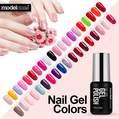 Modelones 120 Colors Nail Art Gel UV Led Soak Off Diy Nail Polish Long Lasting