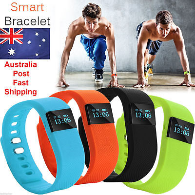 Bluetooth Smart Bracelet Fitbit Style Sport Band Step Counter Pedometer Tracker