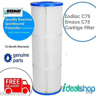 Zodiac Titan Emaux Cf75 Cartridge Filter Element Genuine W88270103