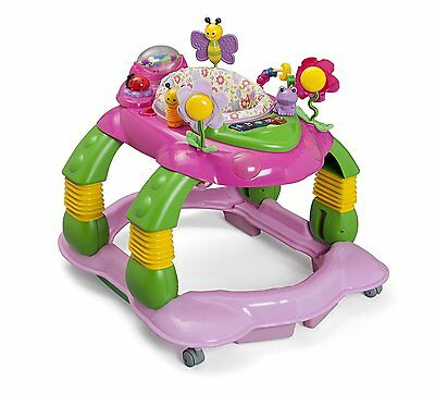 Baby Activity Center Infant Girl Playstation Pink Walker Developmental Play Toy