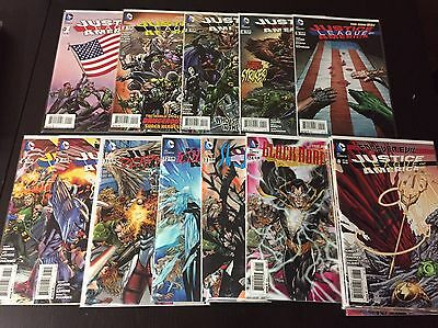 Justice League Of America New 52, Rebirth Complete Comic Series. Mint