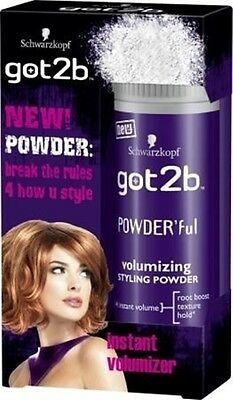 Schwarzkopf NEW Got2B POWDER'ful Volumizing Styling Powder for Max Volume 10g