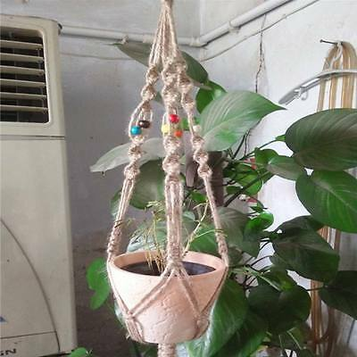 Vintage Plant Hanger Holder Hooks Macrame Plant Hanger Hanging Planter Holder