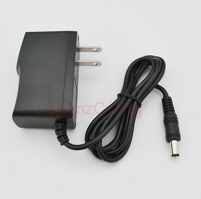 AC Adapter DC 6V 500mA Switching Power Supply Charger US DC 5.5mm x 2.1mm 0.5A