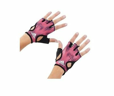 Adidas Women Cycling Gloves Climalite Training Fitness Gym Work Out New W57242