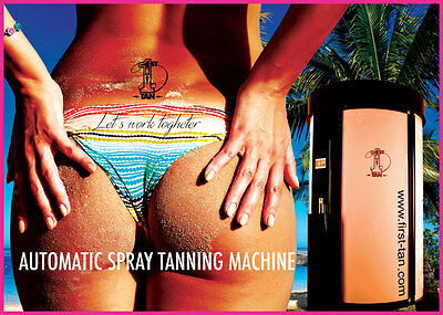 ALL IN ONE CABIN Automatic Spray Tanning Booth