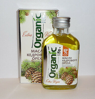 Pure Siberian Pine Nut Oil, Extra Virgin, First Cold Press