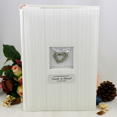 Wedding Photo Album - 300 Photo - Personalised - Add a Name & Message
