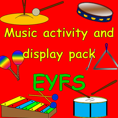 MUSIC for the Early Years- activities, display, IWB Powerpoints- EYFS, KS1
